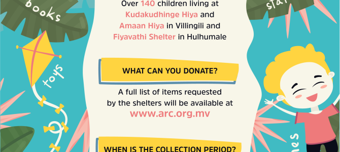 Donate to Children in Shelters through ARC's Ramazan Collection 2019