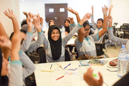 ARC holds a workshop for girls, to mark the International Day of the Girl Child