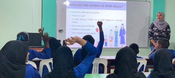 ARC concludes HOPE Campaign sessions on child abuse prevention in all islands of Faafu Atoll