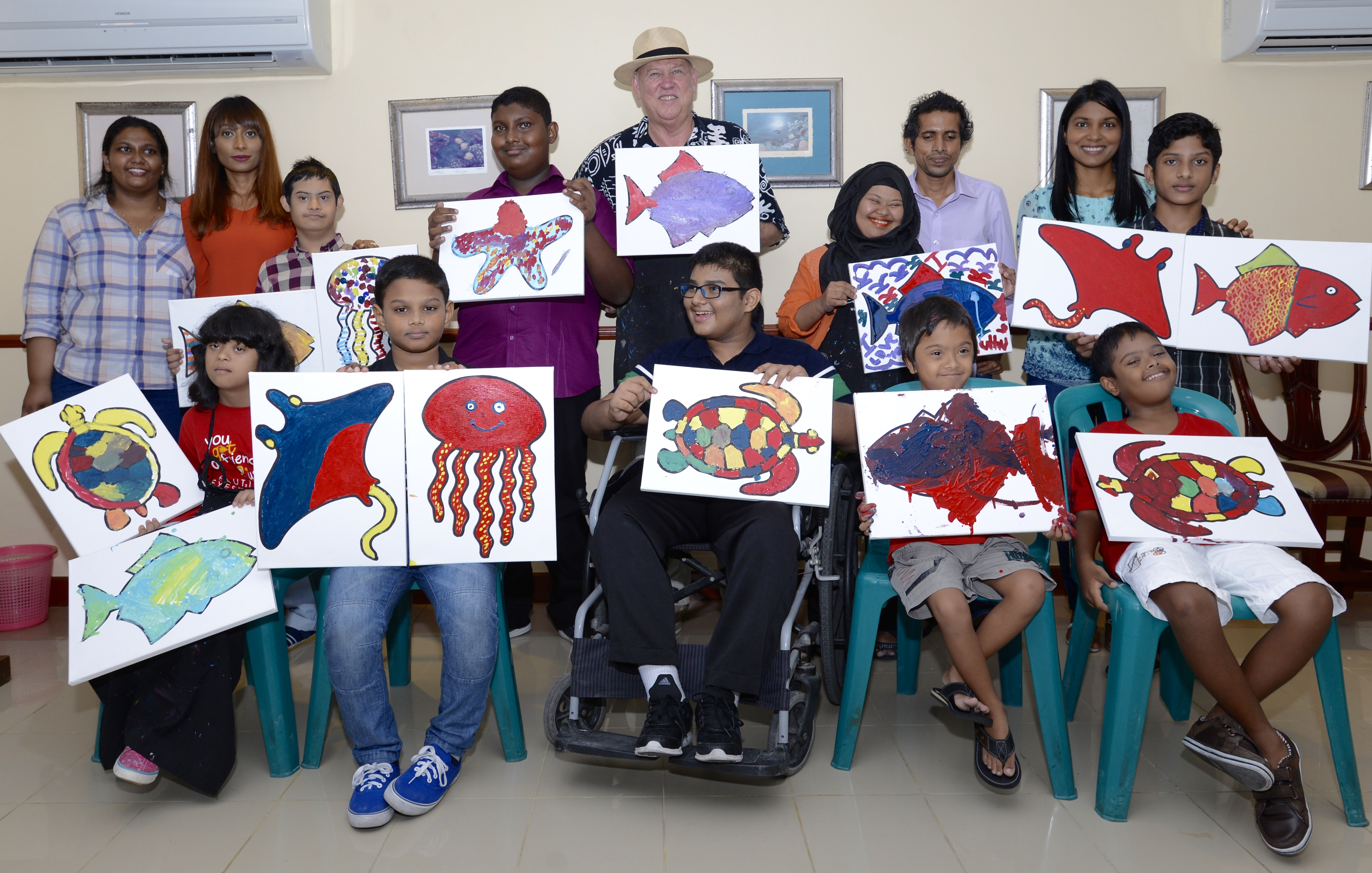 Howto Use Art to Help Children With Disabilities