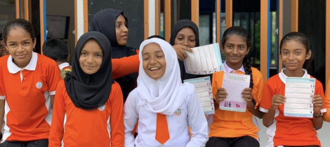 ARC concludes HOPE Campaign sessions on child abuse prevention in all islands of Laamu Atoll