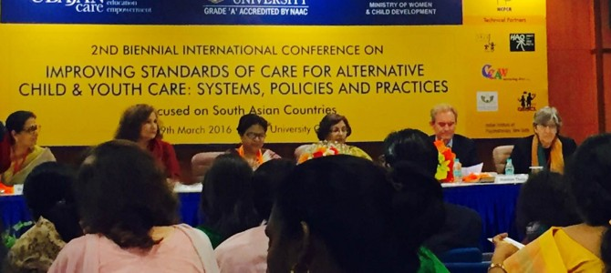 ARC participates in conference on improving standards of children's shelters