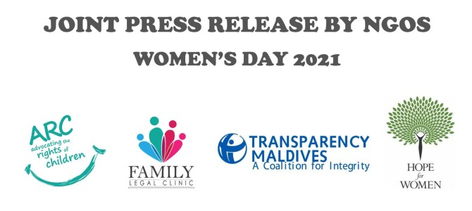 Joint Press release by NGO's Women's Day 2021