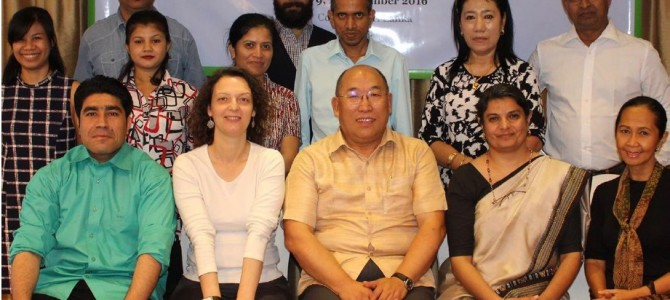 ARC Attends Regional Workshop and Training on Strengthening Child Participation at SAARC Level