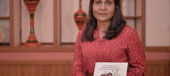 First Lady Fazna Ahmed Launches Child-Friendly CEDAW Booklet Developed by ARC in partnership with UNICEF to Mark International Day of the Girl Child 2020